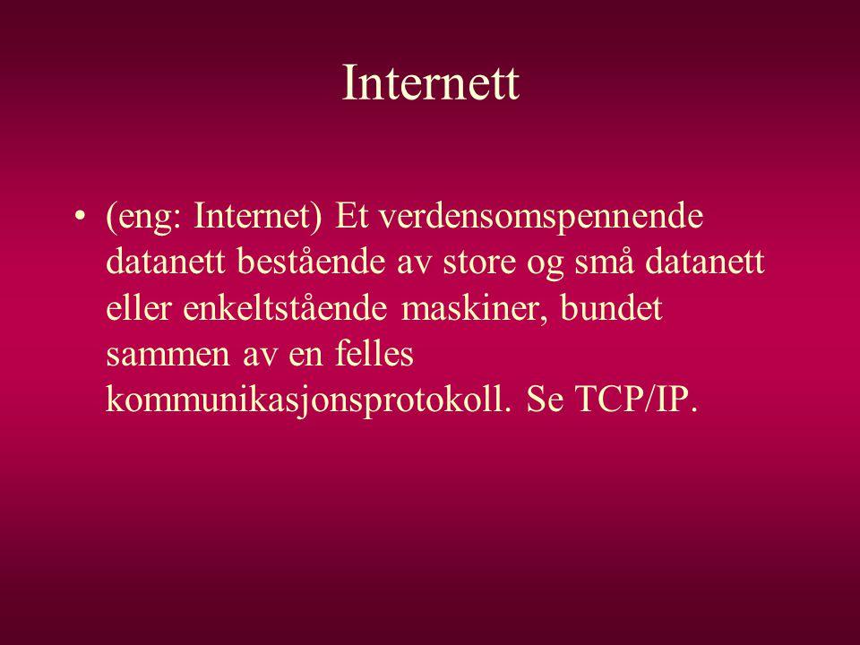 Internett