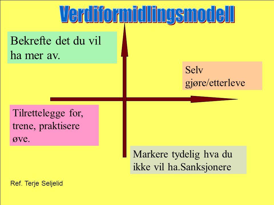 Verdiformidlingsmodell