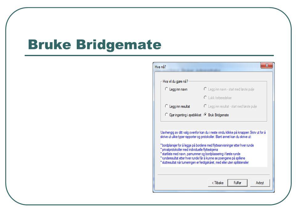 Bruke Bridgemate