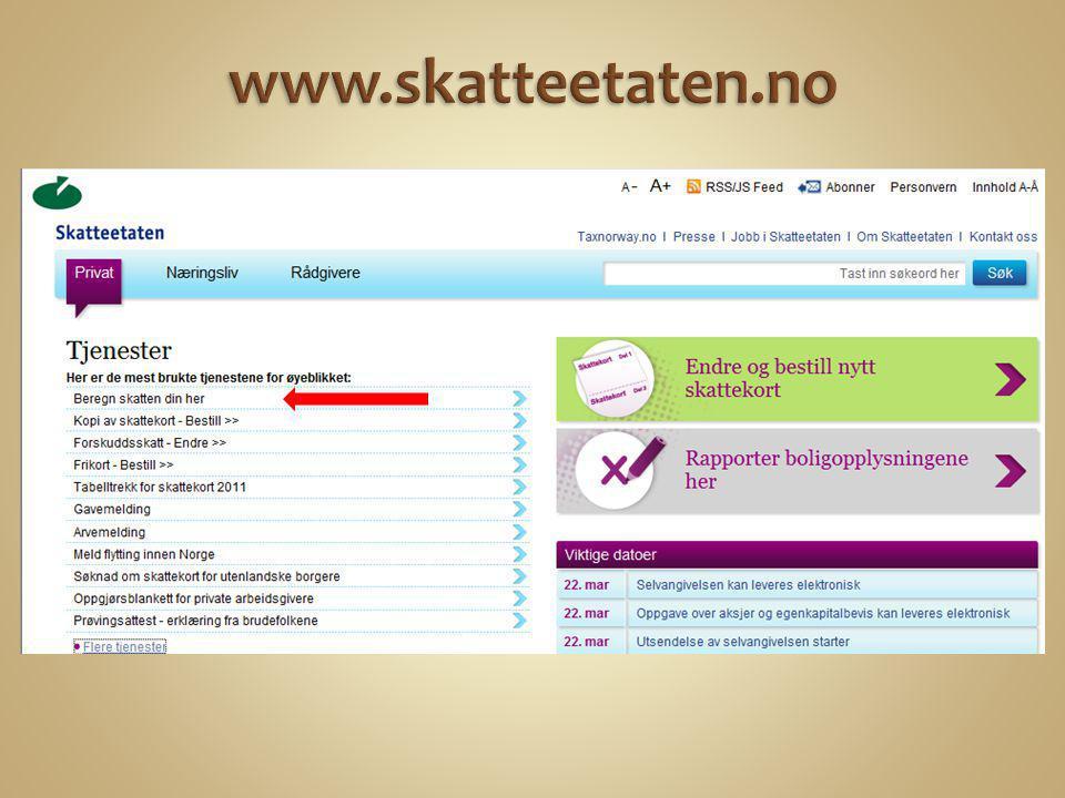 www.skatteetaten.no