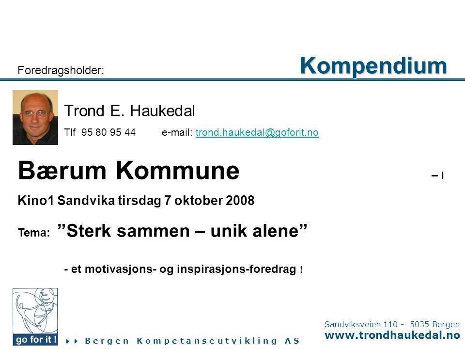 Bærum Kommune – I Kompendium