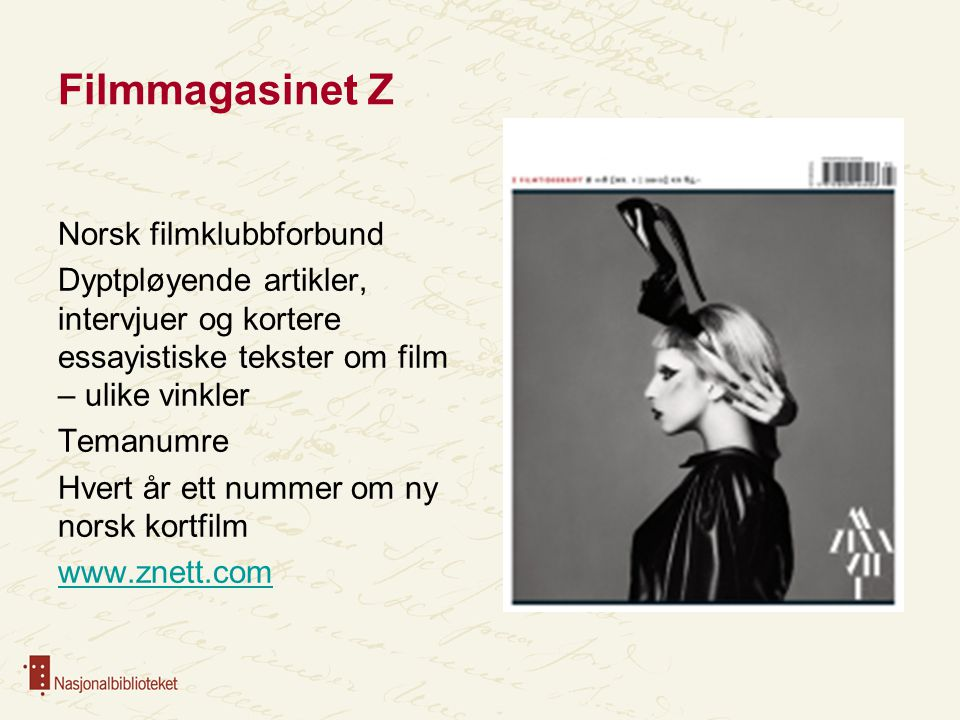 Filmmagasinet Z