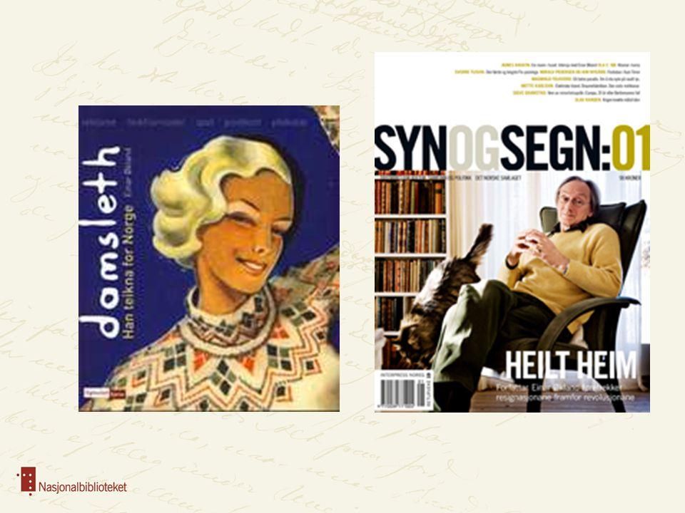 Syn og Segn er kåret til Årets nordiske tidsskrift 2010 av en uavhengig nordisk fagjury. Prisen ble delt ut på bokmessen i Helsinki 29. oktober. Dermed er det norsk vinner i denne konkurransen for andre år på rad.