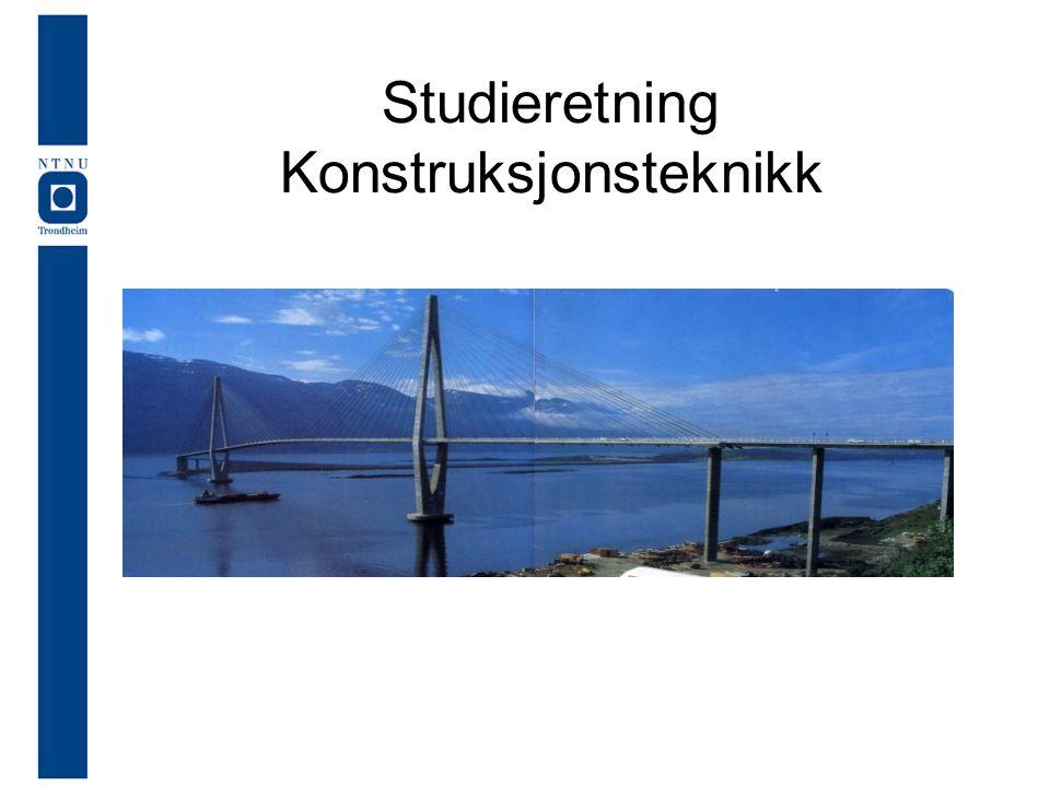 Studieretning Konstruksjonsteknikk