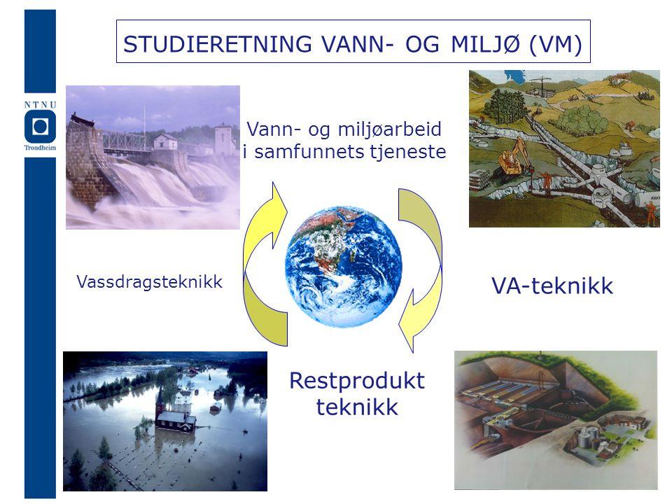 STUDIERETNING VANN- OG MILJØ (VM)