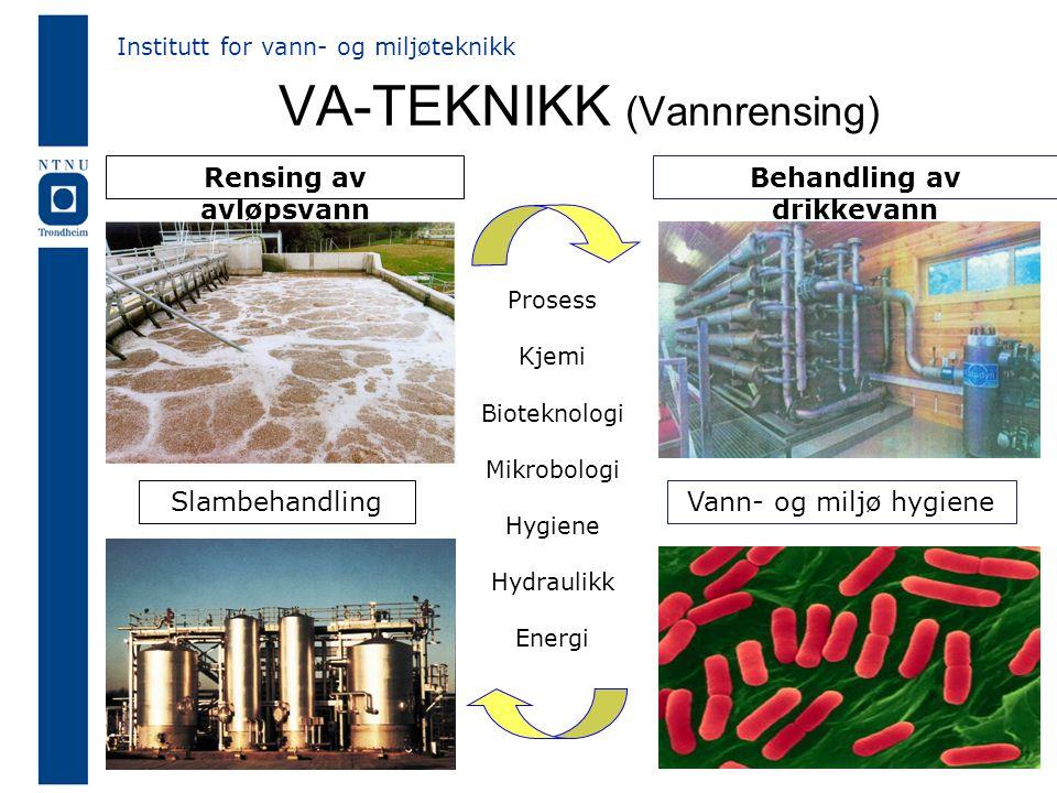 VA-TEKNIKK (Vannrensing)