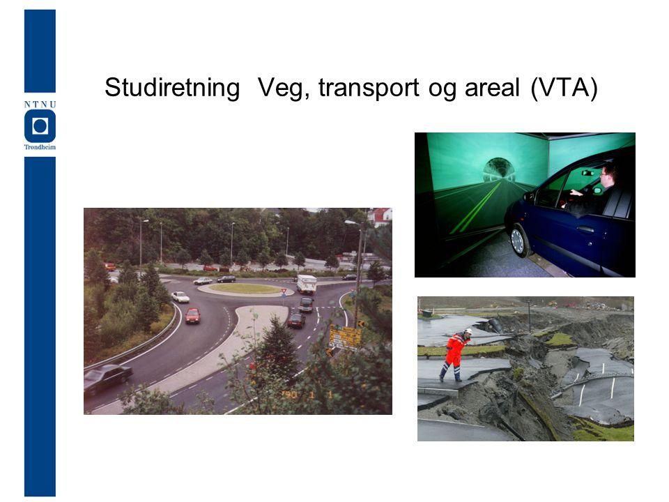 Studiretning Veg, transport og areal (VTA)
