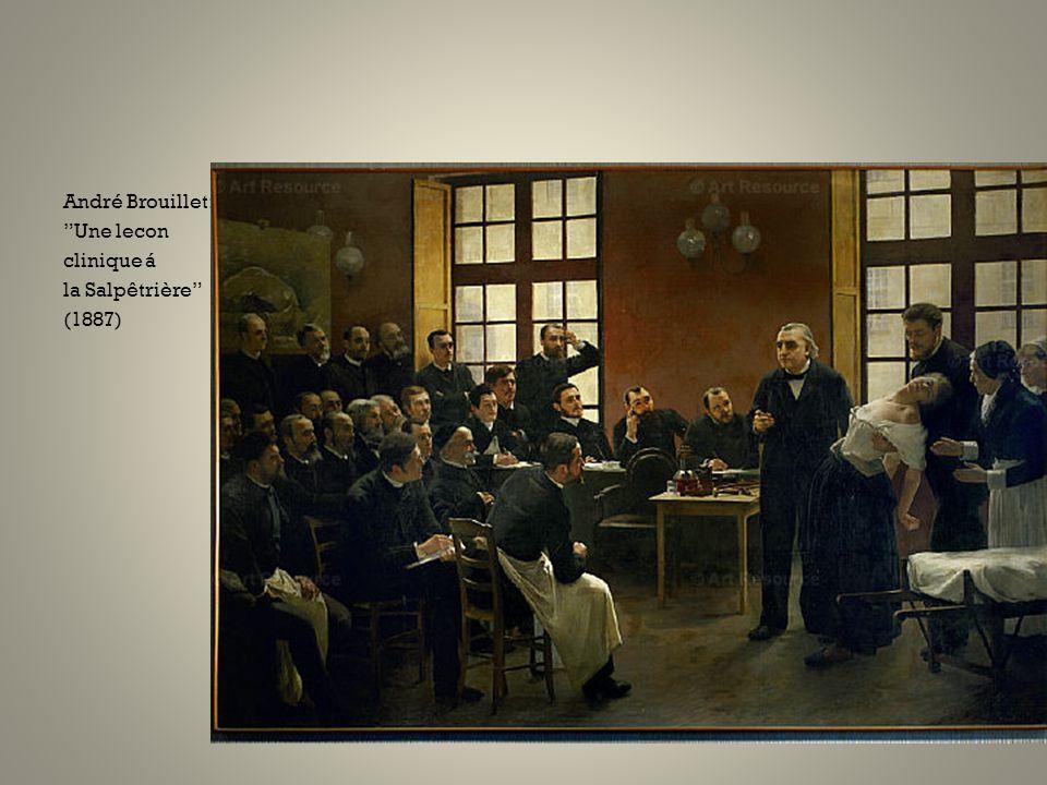 André Brouillet: Une lecon clinique á la Salpêtrière (1887)