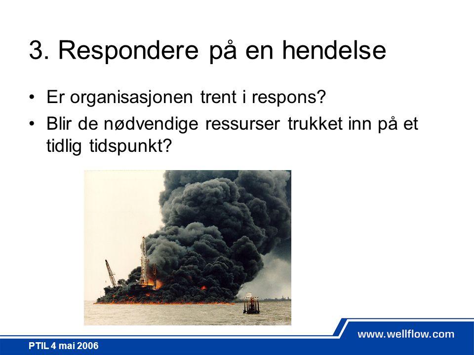 3. Respondere på en hendelse