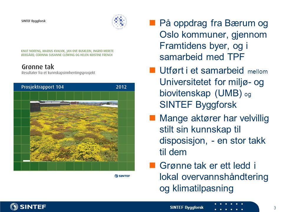 På oppdrag fra Bærum og Oslo kommuner, gjennom Framtidens byer, og i samarbeid med TPF