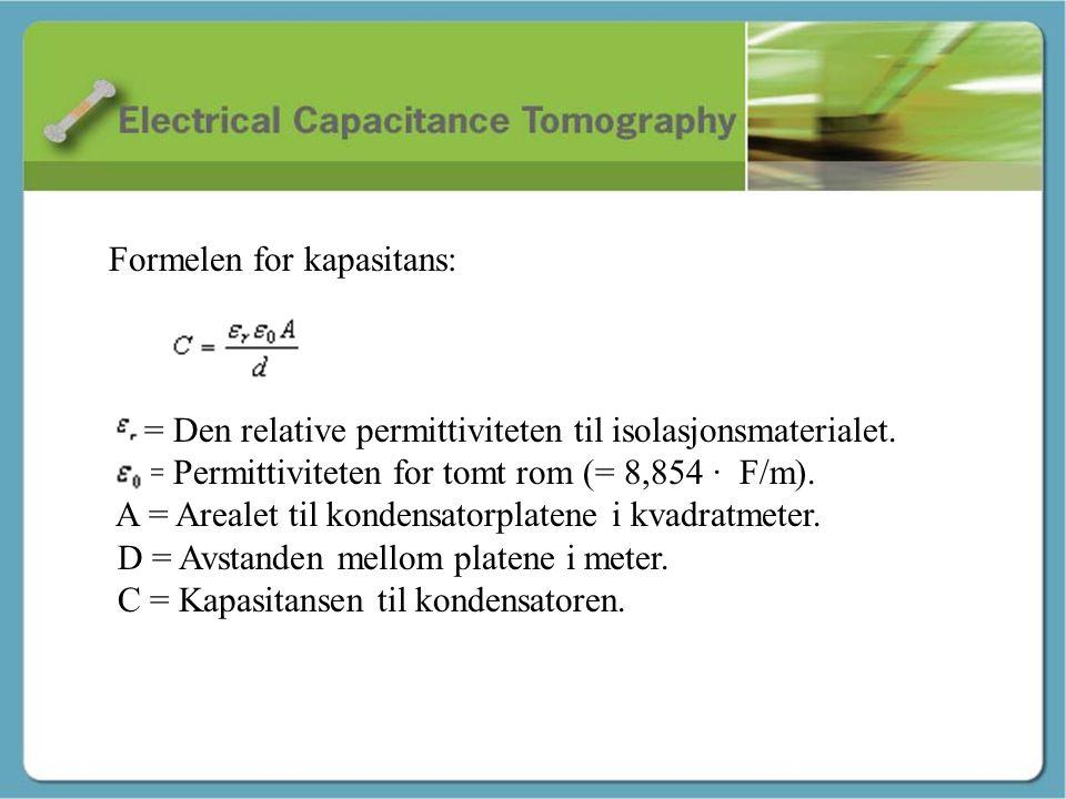Kapasitans - Martin Formelen for kapasitans: