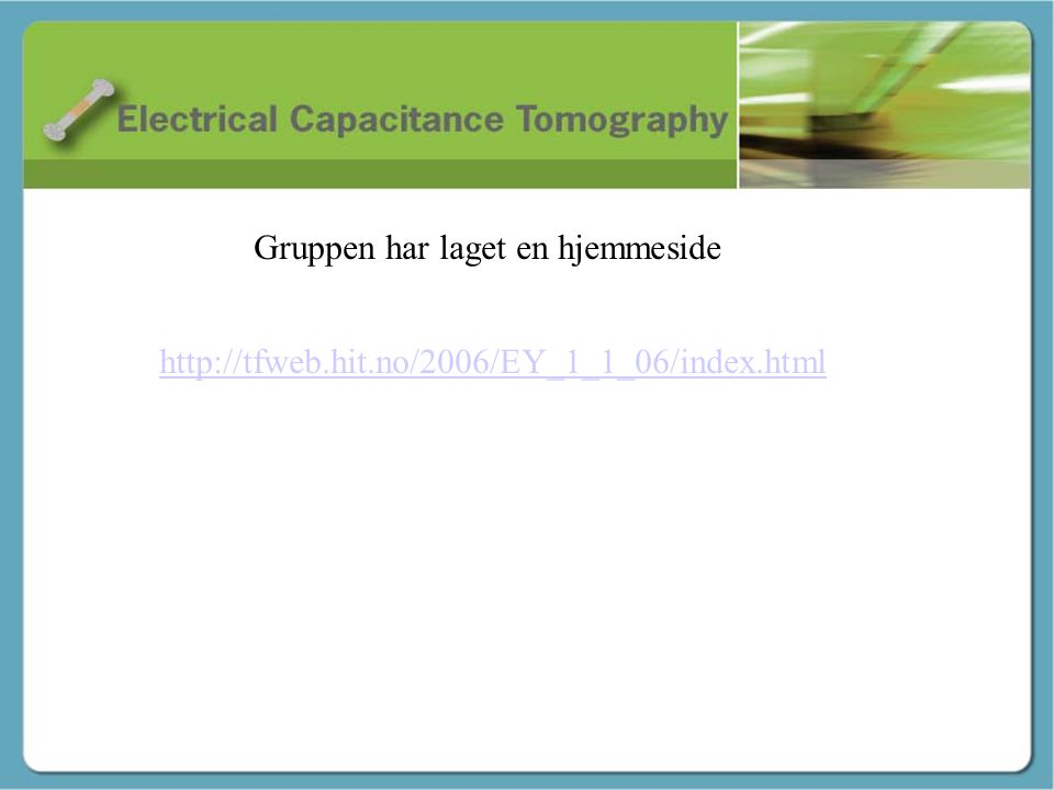 Innledning - Stig Gruppen har laget en hjemmeside