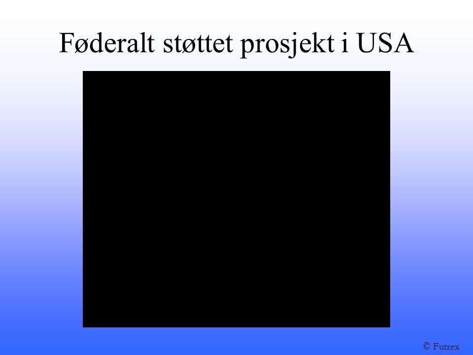 Føderalt støttet prosjekt i USA