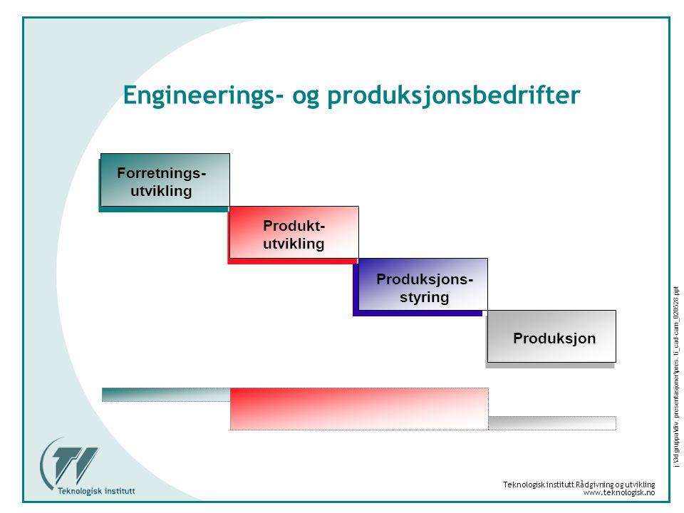 Engineerings- og produksjonsbedrifter