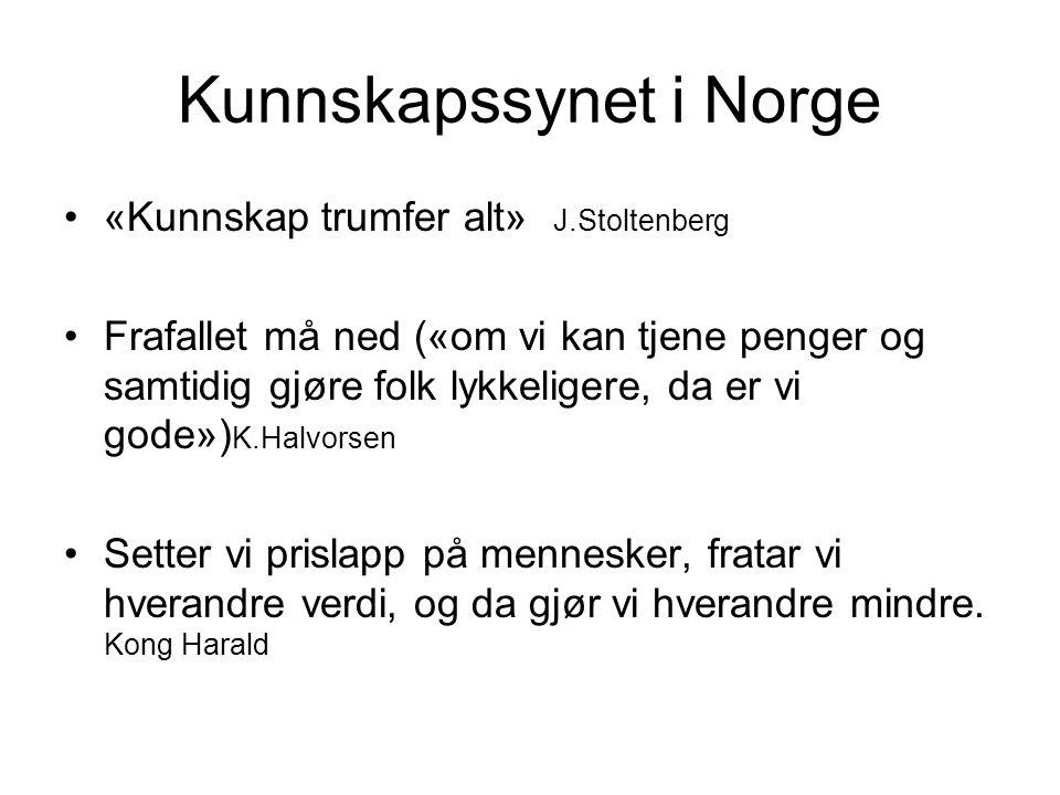 Kunnskapssynet i Norge