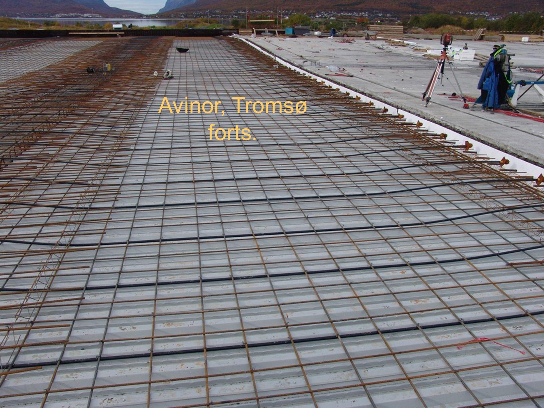 Avinor, Tromsø forts.