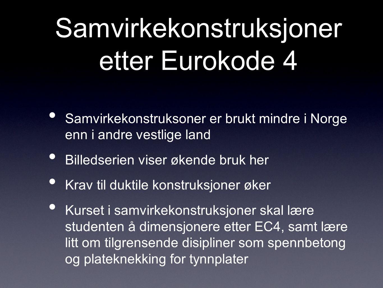 Samvirkekonstruksjoner etter Eurokode 4