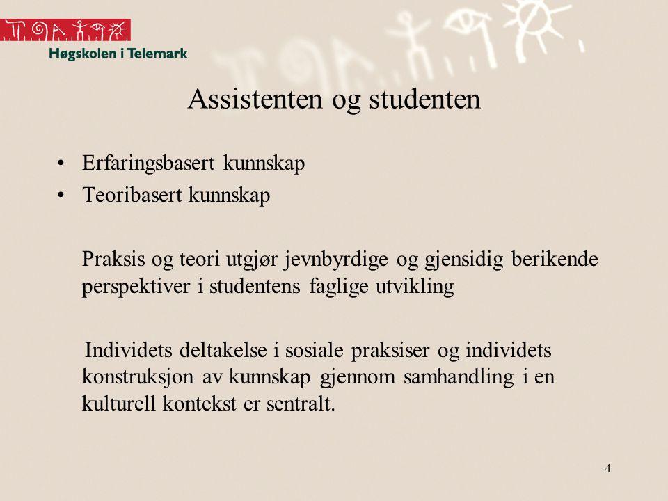 Assistenten og studenten