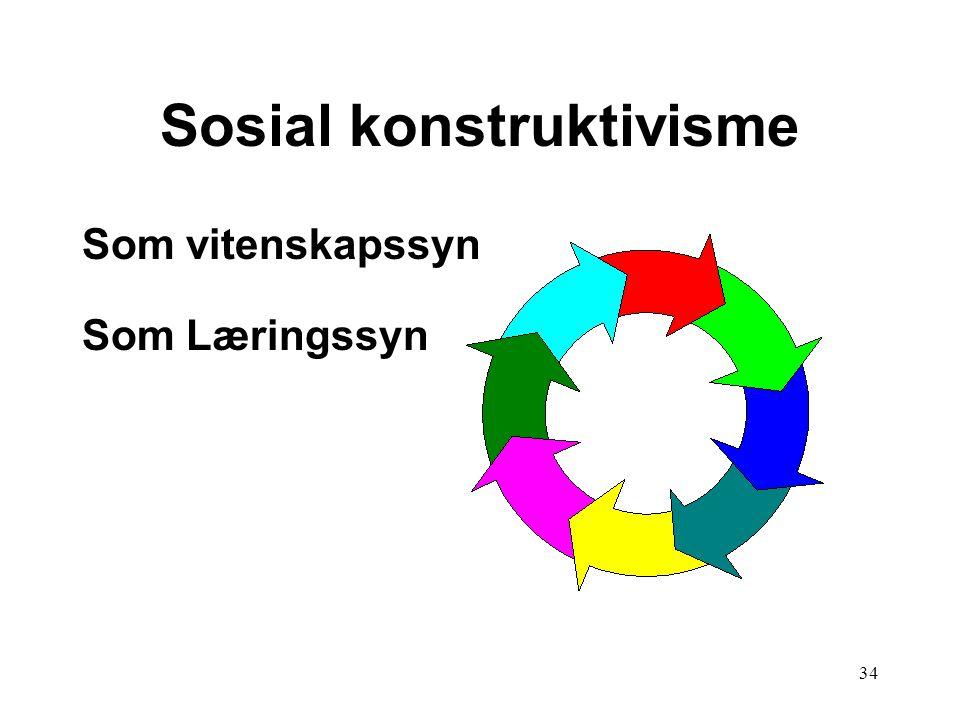 Sosial konstruktivisme