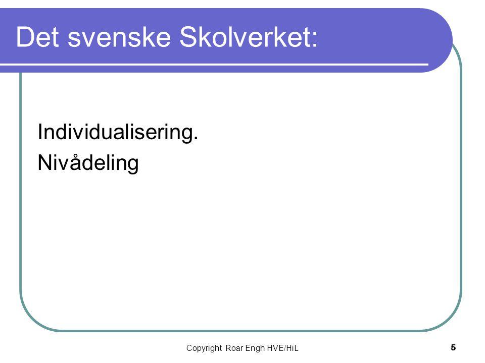 Det svenske Skolverket: