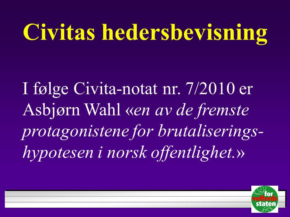 Civitas hedersbevisning