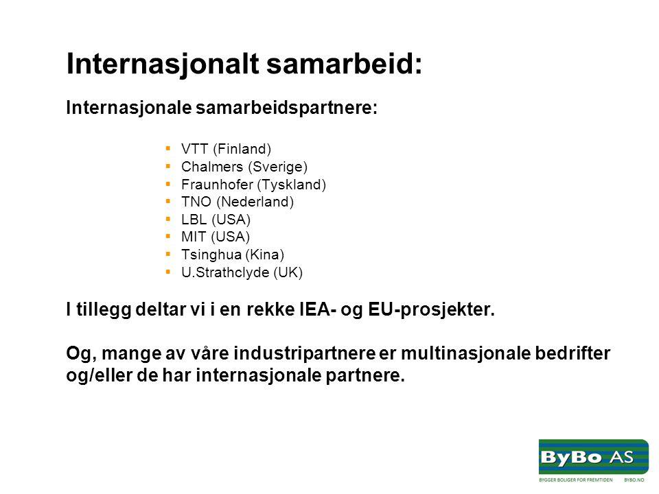 Internasjonalt samarbeid: