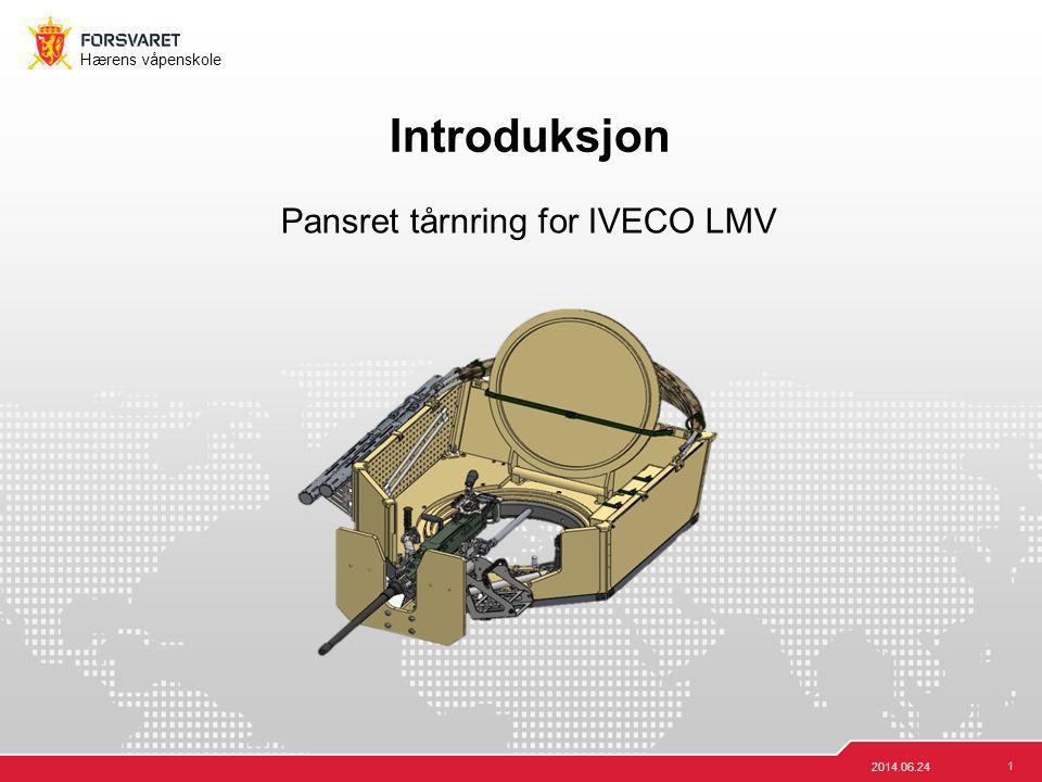 Pansret tårnring for IVECO LMV