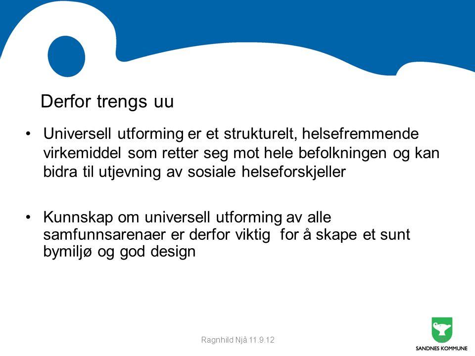 Møte med Time kommune 21.09.11. Derfor trengs uu.