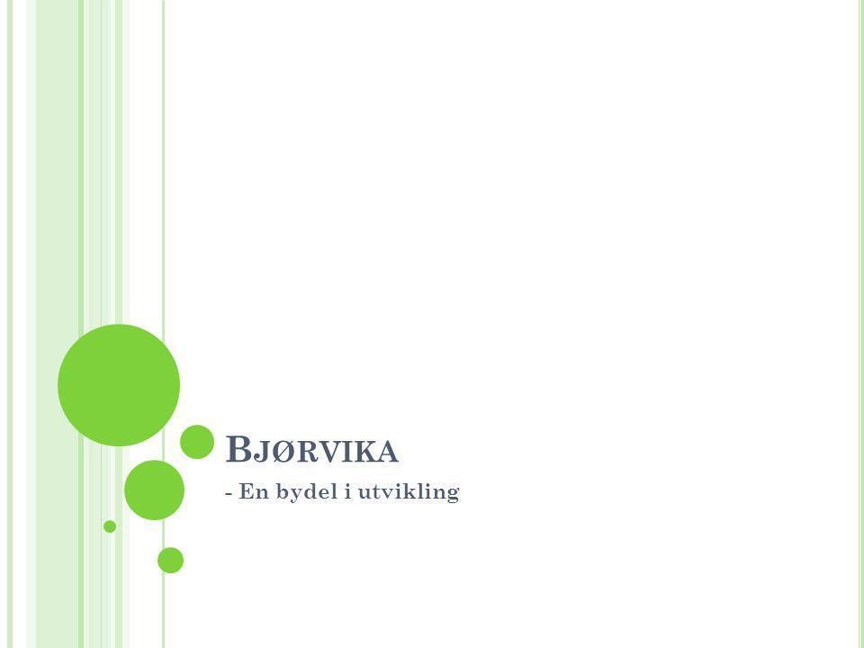 Bjørvika - En bydel i utvikling