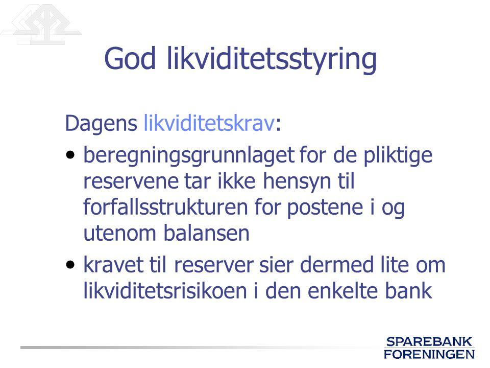 God likviditetsstyring