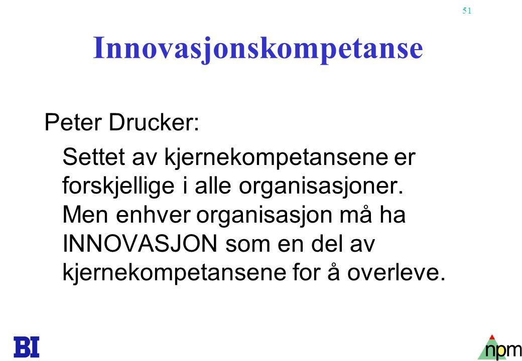 Innovasjonskompetanse