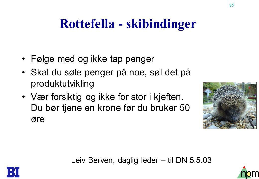 Rottefella - skibindinger