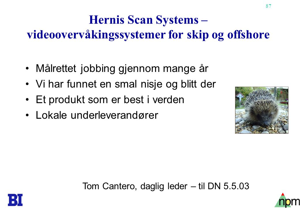 Hernis Scan Systems – videoovervåkingssystemer for skip og offshore
