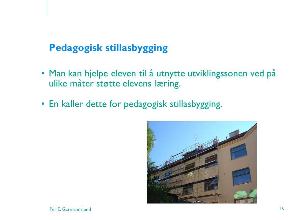 Pedagogisk stillasbygging