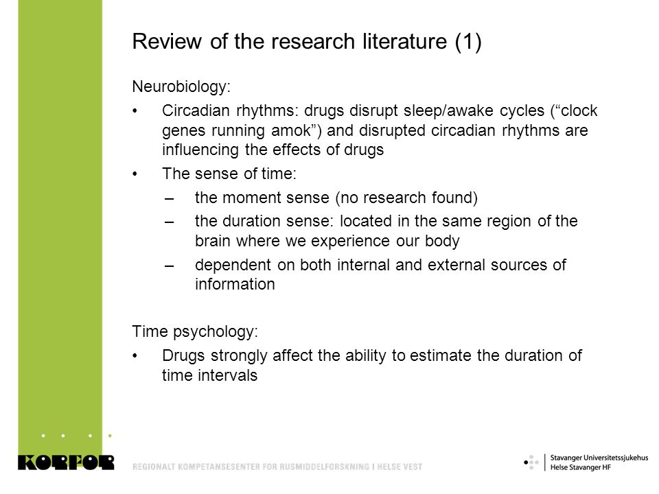 Review of the research literature (1)