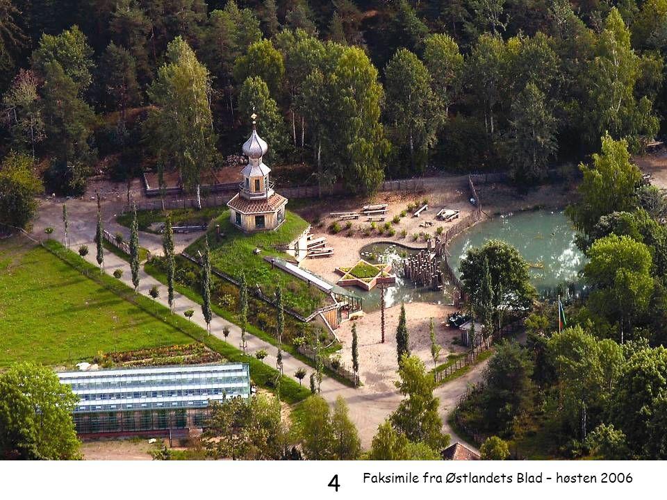 4 Faksimile fra Østlandets Blad – høsten 2006