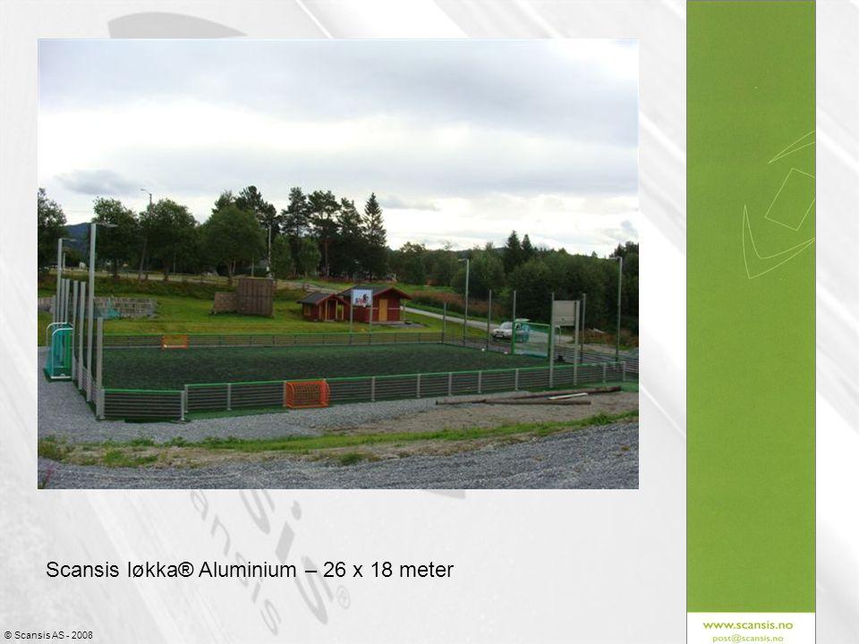 Scansis løkka® Aluminium – 26 x 18 meter