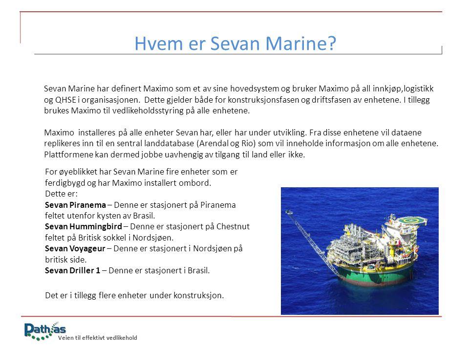 Hvem er Sevan Marine