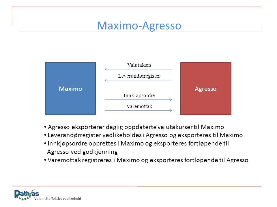 Maximo-Agresso Maximo Agresso