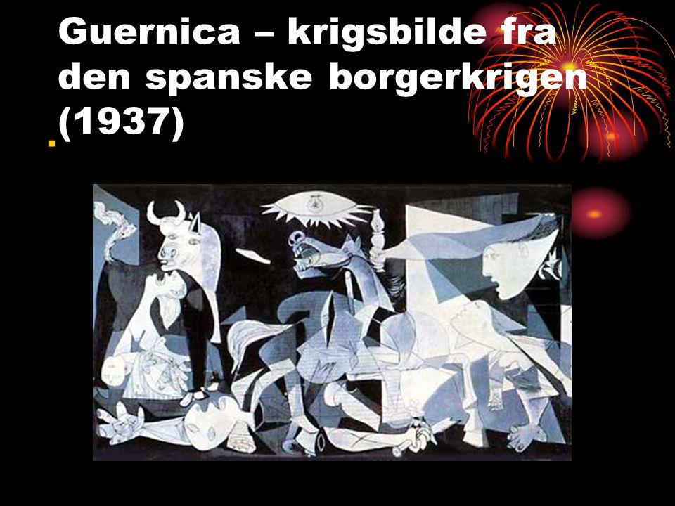 Guernica – krigsbilde fra den spanske borgerkrigen (1937)