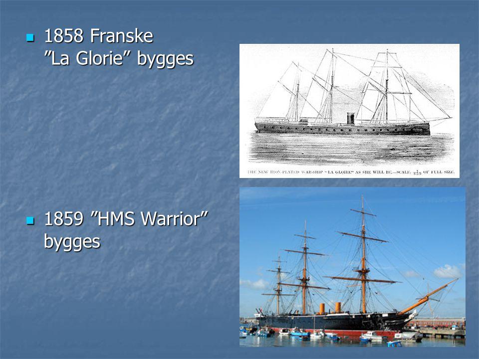 1858 Franske La Glorie bygges