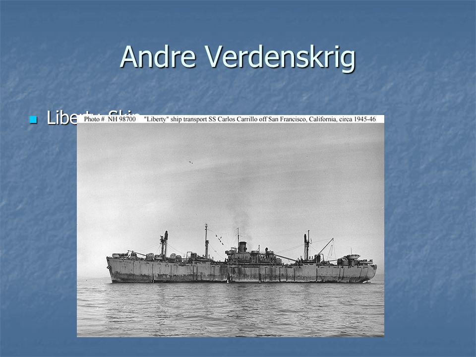 Andre Verdenskrig Liberty Skip