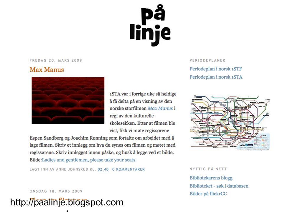 http://paalinje.blogspot.com/