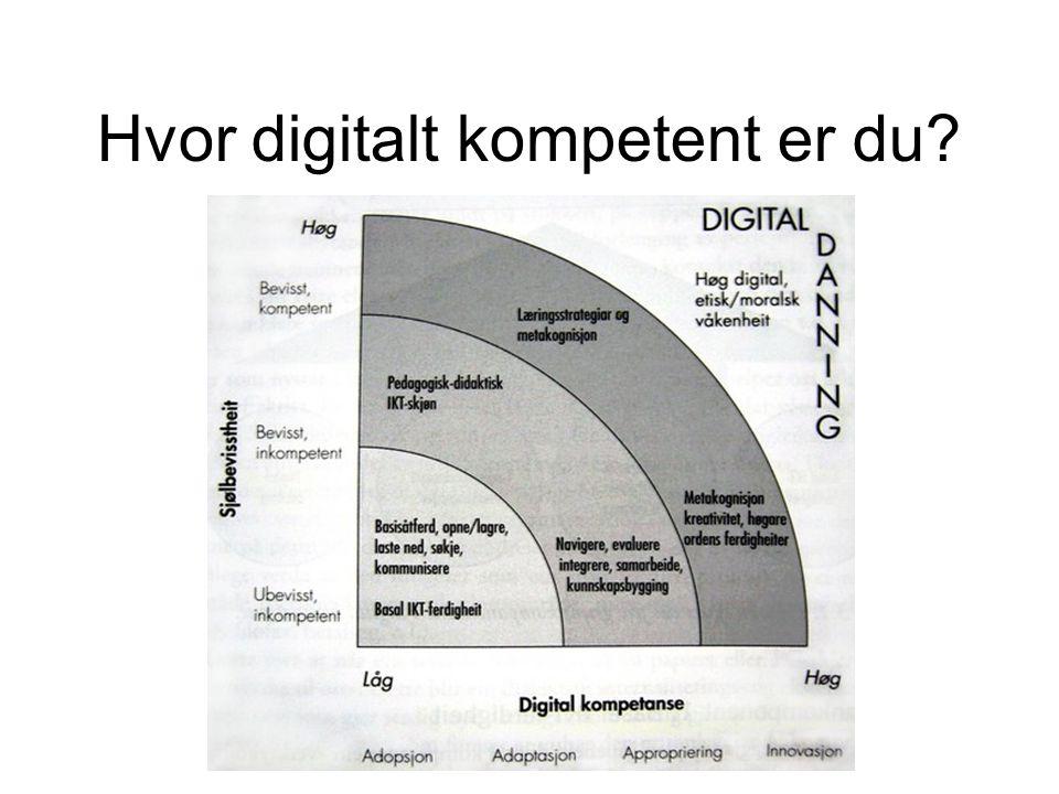 Hvor digitalt kompetent er du