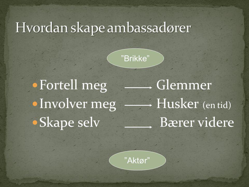 Hvordan skape ambassadører