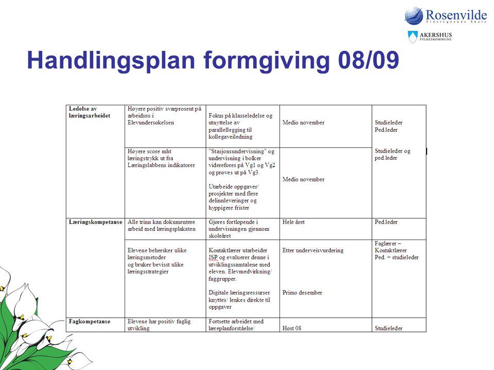 Handlingsplan formgiving 08/09