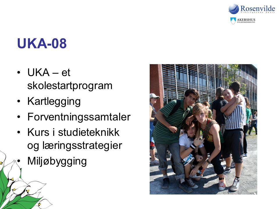 UKA-08 UKA – et skolestartprogram Kartlegging Forventningssamtaler
