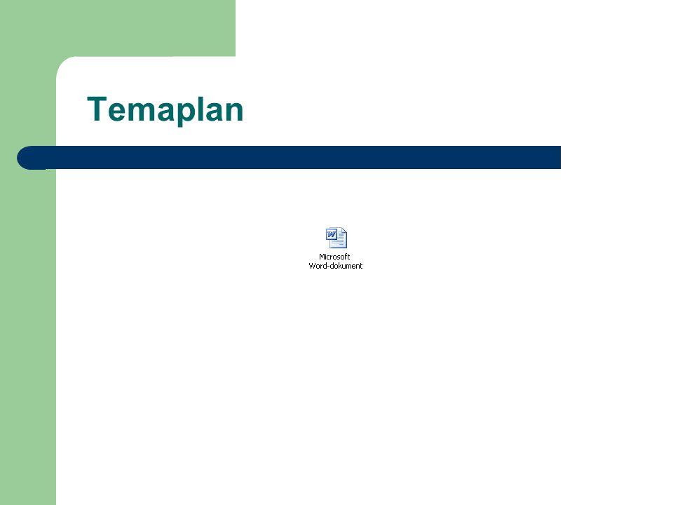 Temaplan