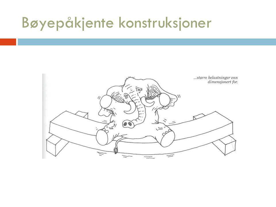 Bøyepåkjente konstruksjoner