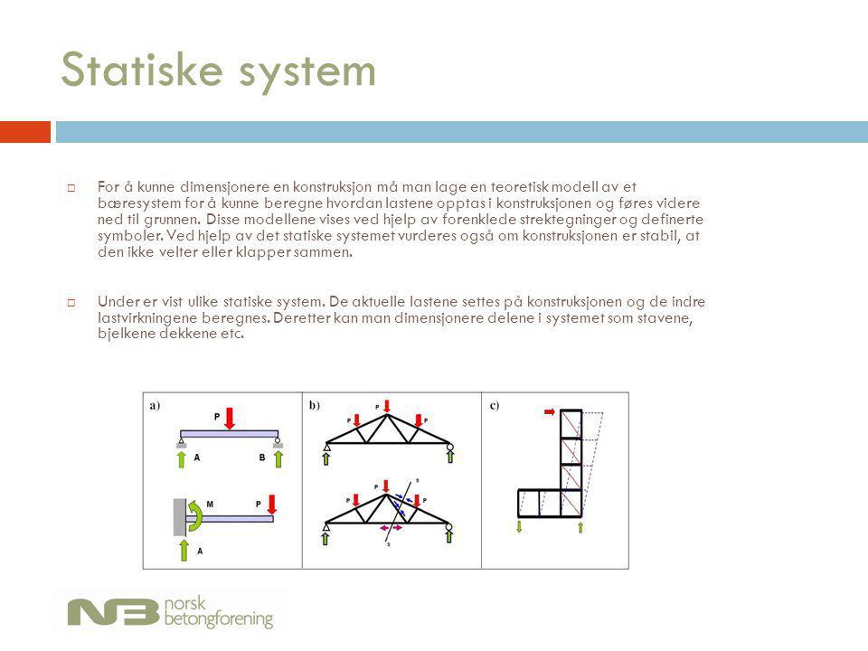 Statiske system